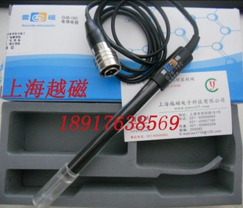 Shanghai Leici DJS-10C (platinum black electrode three core air plug) - conductivity measuring electrode