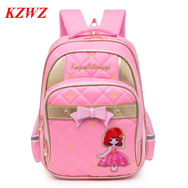 129dd41e266f KUZAIWANGZI School Bags For Girls 2018 Brand Girl Backpack Cheap Shoulder Bag  Wholesale Kids Fashion Backpacks P735
