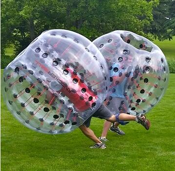 Toy balls Inflatable Bumper Bubble Soccer Ball Dia 4ft/5 ft(1.2m/1.5m) Giant Human Hamster Ball for Adults and Teens