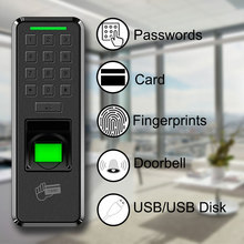 Eseye Fingerprint USB Door Lock Biometric Access Control Time Clock Electronic Reader Recorder Employee Machine For Office