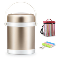 304 Stainless Steel 2L Insulated Food Container Vacuum Thermos Bento Lunch Boxs Portable Travel Japanese China Lunchbox For Kids|lunchbox for kids|lunchbox bento|lunchbox thermos -