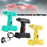 High Quality 12V Rechargeable Portable Electric Car Bike Pump Air Compressor Tire Inflator