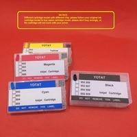hp officejet YOTAT 400ml Dye ink + Refillable for HP 954 HP954XL ink cartridge for HP OfficeJet Pro 8702 7720 7730 7740 8210 8218 8710 8720 (2)