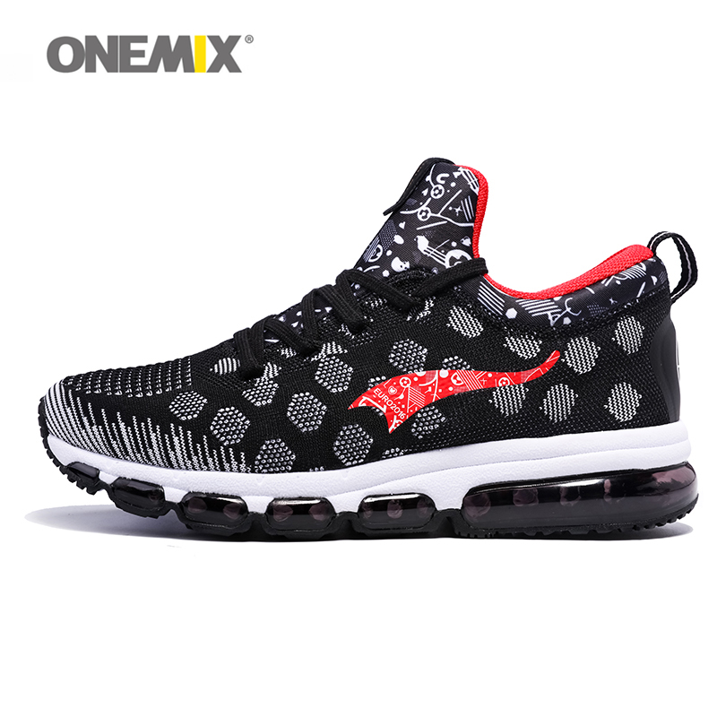 ONEMIX Original Walking Shoes Men&Women Trail Running Shoe Mesh Breathable Unisex Athletic Runner Elastic Damping Sneakers