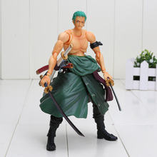 18cm Variable Action Heroes One Piece Roronoa Zoro PVC Action Figure Collectible Model Toy
