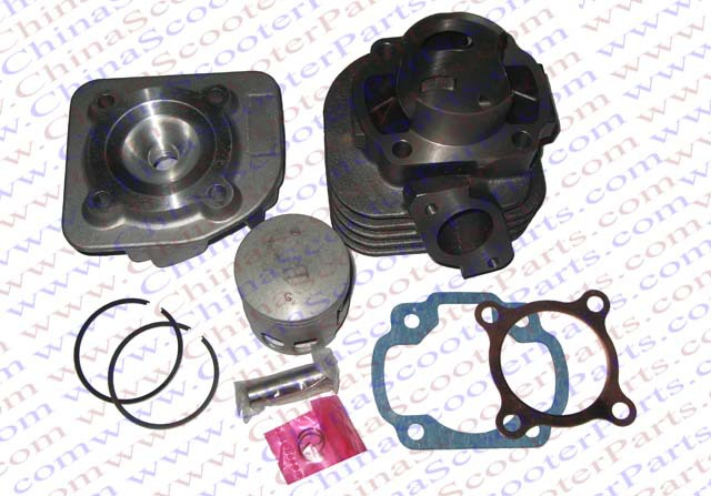 цена на Performance 48mm Cylinder Piston Ring Gasket Head Kit (Big bore Kit ) 72CC 1P40QMB Jonway Keeway Yiying Scooter Parts