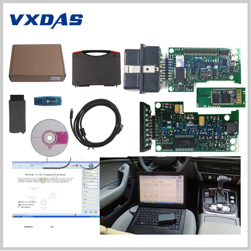 Diagnostic Tool VAS 5054A OKI Chip VAS5054 VAS 5054 Bluetooth Full Chip VAS5054a ODIS V3.0.3 For VAG Series Multi-Language VXDAS