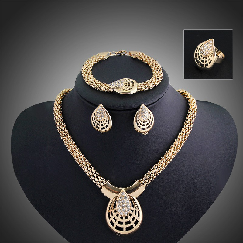 Modern Indian Wedding Jewelry Sets Accessories Gold Jewellery