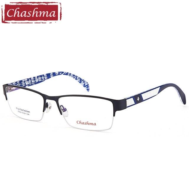 Chashma Marque Top Qualité Optique Cadres Qualité Alliage TR 90 Cadre Hommes  De Mode Grand Cadre 4abf882e88d0