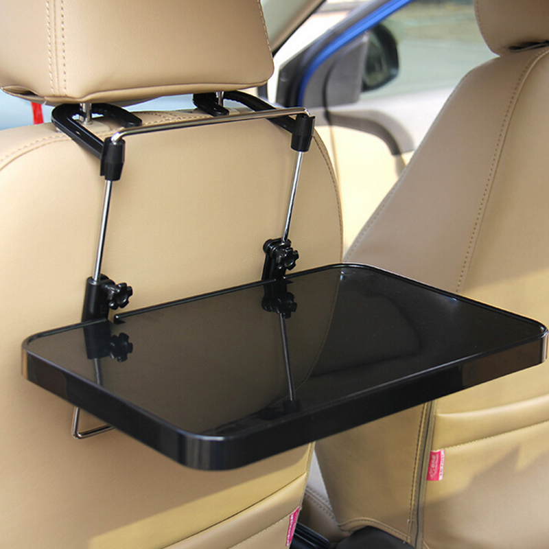 Auto Interior Supplies Folding Computer Desk with Drawer Car Steering Wheel Seat Vehicular Dining Table Car Laptop Desk SD-1504