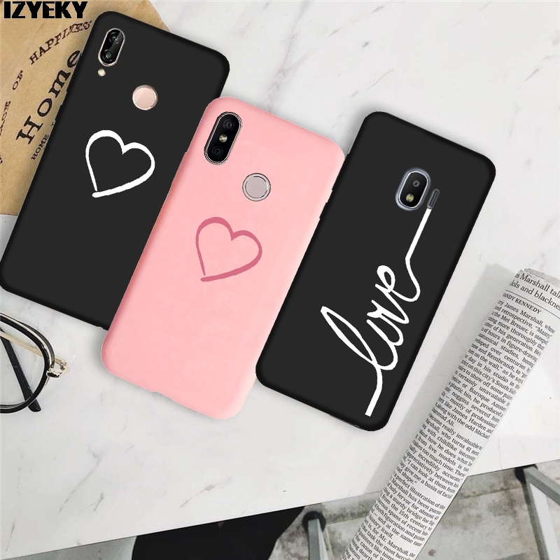 Half-wrapped Case Logical Izyeky Case For Huawei P Smart 2019 Cute Love Heart Back Cover For Huawei P Smart 2019 Pot-lx1 Pot-lx3 6.21inch Silicone Coque Sales Of Quality Assurance