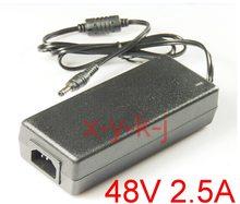 Soluções IC AC 100 V - 240 V interruptor de alimentação DC 48 V 2.5a, 120 W adaptador de led, 5.5 * 2.1 - 2.5 mm