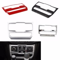 Interior Mouldings for Jeep Wrangler JL 2018+ Window Control Panel Decoration Sticker Interior Accessories For jeep JL