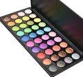 Mais novo 40 Full Color Shimmer Glitter Sombra Make Up Paleta Profissional Da Sombra Do Pigmento Maquiagem Cosméticos Set Kit