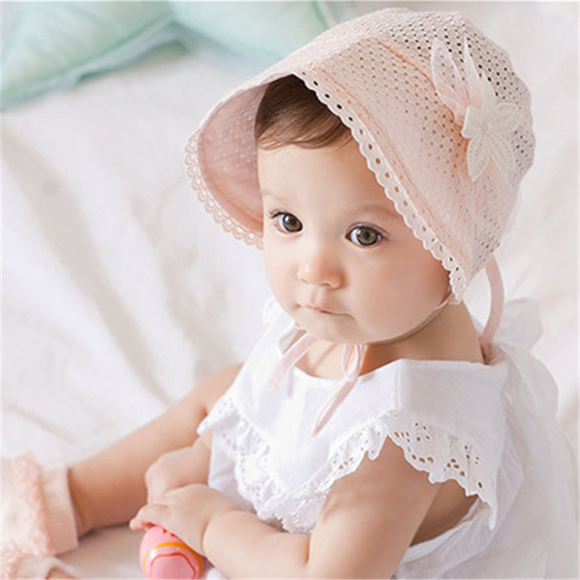 872e640afc4 Girls Infant Baby Newborn Kids Bucket Hat Children Cap Beanie Bonnet Hair  Accessories Bebe Hats Baby reborn Photography Props-in Hats   Caps from  Mother ...