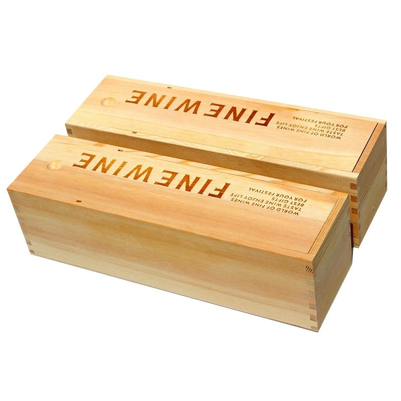 caja de regalo de madera del vino caja de al por mayor baratos solo embalaje
