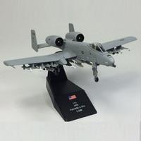 Amer World War II USA Fairchild A 10A Thunderbolt Jet Aircraft 1 100 Finished Alloy Model