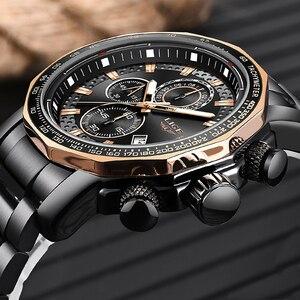 Image 2 - Relogio Masculino 2019 New Watch Men LIGE Mens Watches Top Brand Luxury Male Sport Quartz Clock Military Waterproof Chronograph