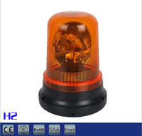 Amber Magnetic Mount Emergency Warning Rotating Flash Beacon Strobe Light Warn