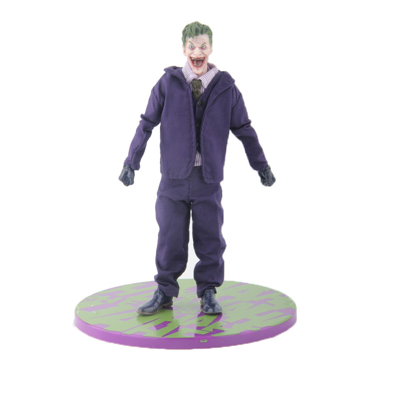 Mezco DC Comics The Joker Collective One:12 Figure 15cm 6 Toys mezco the punisher figure one 12 collective 6 action figure free shipping