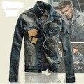 Mens Motorcycle Jean VestMen Clothing Men's Denim Jacket Men Outdoors Casual Jeans Jackets And Coats Outerwear Men Plus Size