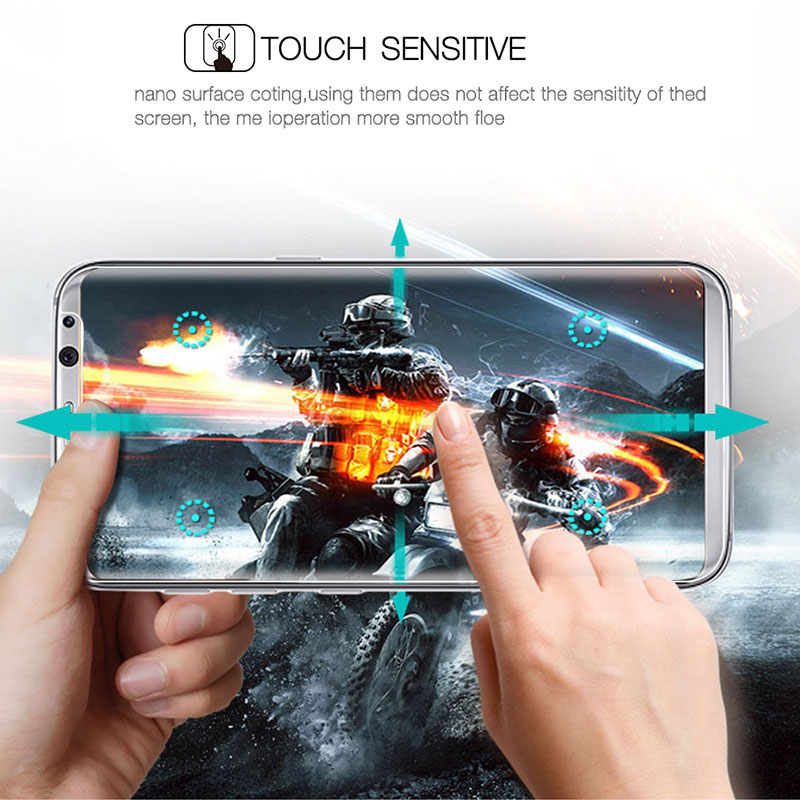 3D Curved Screen Protector For Samsung Galaxy S8 S8 Plus Specifically Designed 9H Tempered Glass Protective Cover Guard Film in Phone Screen Protectors from Cellphones Telecommunications