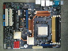 Used original для asus m2n-sli deluxe am2 am2 + ddr2 amt 2 * gigabit ethernet