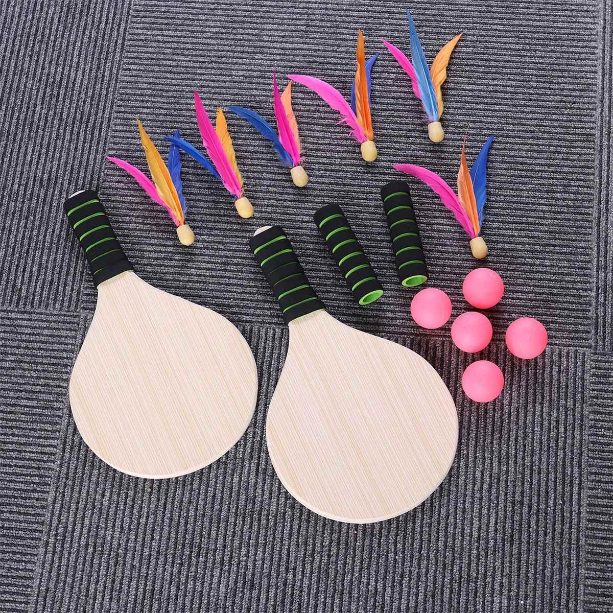 Beach Paddle Ball Game Badminton Tennis Pingpong Beach
