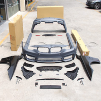 PP Материал TANWAN в M3 наборы тела стайлинга автомобилей передний бампер + крыло + задний Наборы для бампера для BMW