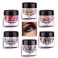 Novos Minerais Eyepowder Shimmer Sombra Em Pó Paleta de Cores Da Sombra de Olho Maquiagem Mineral Brilho Metálico