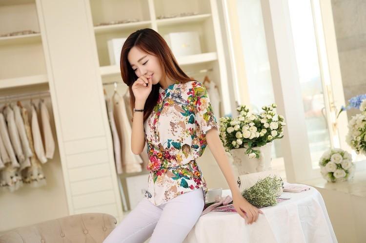 HTB1CFaANXXXXXbxXXXXq6xXFXXX4 - 2016 high quality Summer style Kimono blouses top Plus size XS-5XL