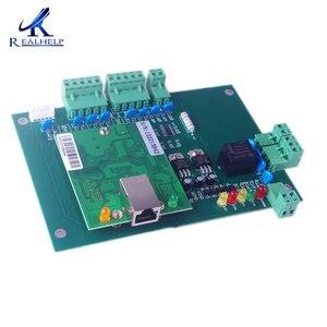 Image 2 - Placa de Control de acceso WAN TCP/IP, tarjeta de Control de acceso, sistemas de entrada de puerta WG26 34, soluciones de seguridad, placa de Control IP