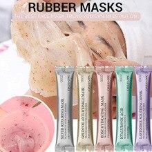 DIY спа коллагена розовое гиалуроновой кислоты мягкой маска Порошковая маска для лица, против старения, крем для лица против морщин и отклеить резиновая маска для лица