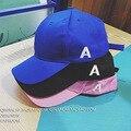 Весной и Летом Моды Важно Письмо Загнутыми Полями Hat Фуражке Пары Досуг Мужчин и женщин Бейсбол Cap # H063