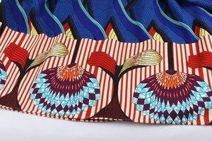 Image 5 - Aovica S 4XL Plus Size Women African clothing Dress Sleeveless Summer Dashiki Dresses vestidos de fiesta