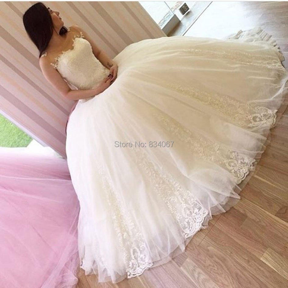 Online buy wholesale classic bride dresses from china classic ...