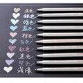 STA 10 цветов s поделки для скрапбукинга  мягкая ручка  металлический цветной маркер для подписи  граффити  школьная живопись  товары для рукод...