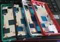 Original para sony z3 compact mini m55w lcd mid board oriente habitação moldura da placa com a tampa da ficha + botões