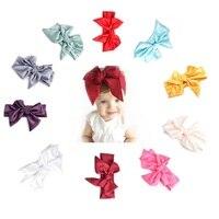 2017Hot Fashion 10Pcs Cute Kids Girl Baby Toddler Bow Headband Hair Band Accessories Headwear Flower Hairband