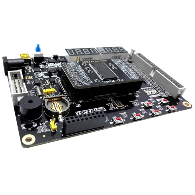 Xilinx FPGA Development Board Kit Spartan-6 XC6SLX9 Development Board + 256Mbit SDRAM + VGA Module XL012