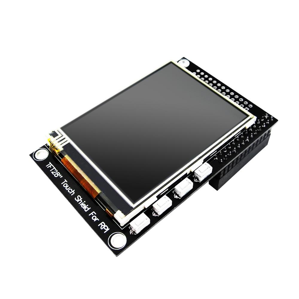 HAILANGNIAO 10PCS HAILANGNIAO LCD module Pi TFT - 2.8 inch Touchscreen Display Module TFT for Raspberry Pi