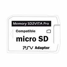 Версія 5.0 SD2VITA Для PS Vita Memory TF Card для PSVita Game Card PSV 1000/2000 Adapter Micro SD Card Reader Adapter для PSP