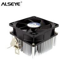 ALSEYE CPU Cooler 80mm Fan Heatsink TDP 95W CPU Fan FM1/FM2/AM4/AM2/AM2+/AM3 Cooler
