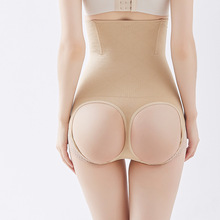 Sexy seamless high waist slimming corset pants Breathable lace hips plastic underwear comfortable breathable