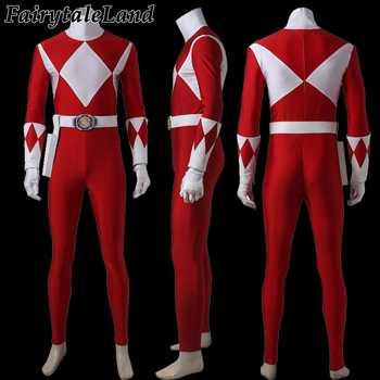 Tyranno Ranger Prince Geki cosplay Costume adult Halloween costumes Red Ranger Uniform Zyuranger cosplay Tyranno Ranger Jumpsuit