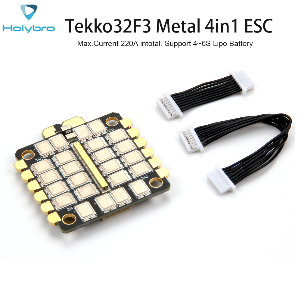 Original Holybro Tekko32 F3 MENTAL 4in1 ESC New BLHELI32 F3 MCU 4 6S For RC Model