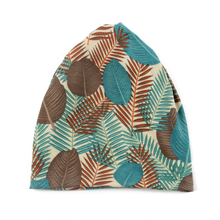 FOXMOTHER Fashion Multifunction Jersey Leaves Turban Chemo Caps Neck Warmer Ponytail Beanies Hats Ladies Women Gorros