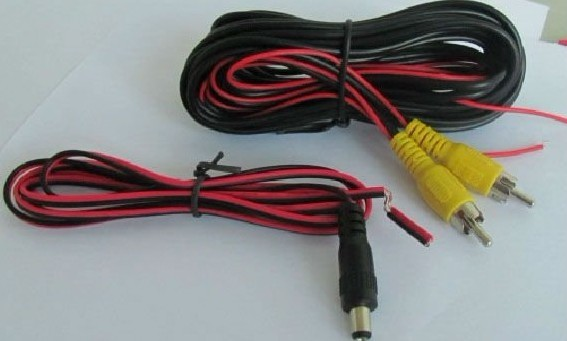 6m video extension cable and 1.5m power cable