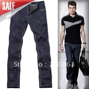 Aliexpress.com : Buy Hot buy jeans for men online cheap dark blue ...
