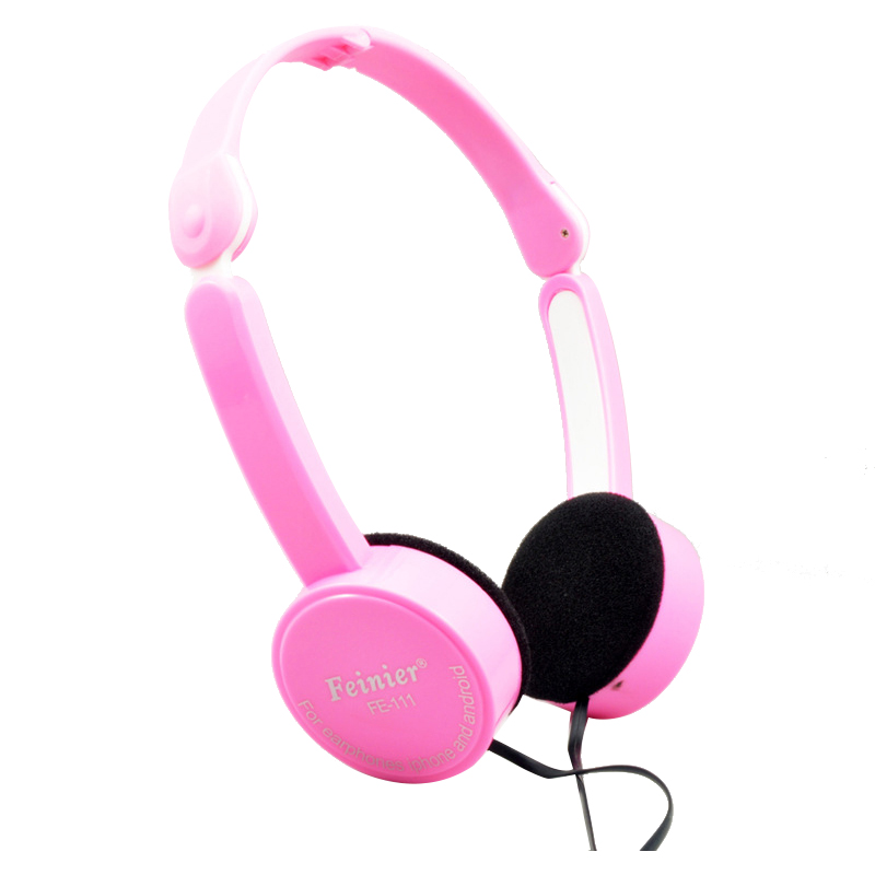 HFES New Kubite 3.5mm headset phone headset high quality headphones personalized children gifts headphones